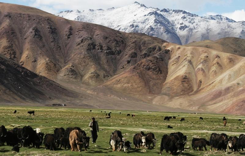 TADJIKISTAN - 26 dagen; Gletsjermeren in de Pamir