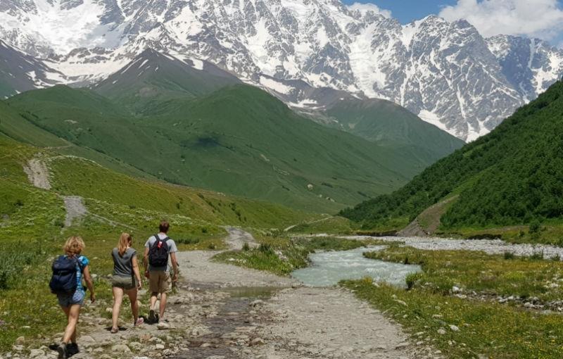 Koning Aap: Familiereis GEORGIË - 16 dagen; De bergen van Georgië