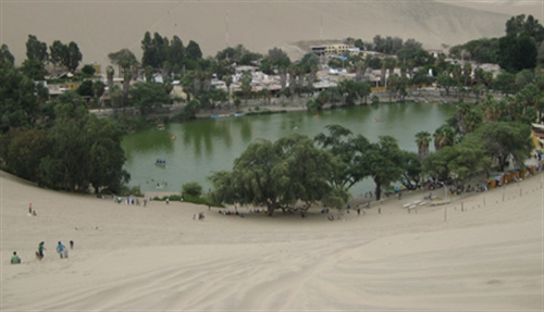 Huacachina and the sandy dunes