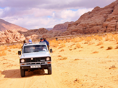 Shoestring: Groepsreis Jordanië; In de voetsporen van Lawrence of Arabia