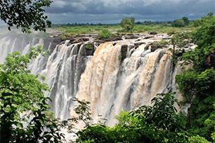 Bucketlist Victoria watervallen Zimbabwe