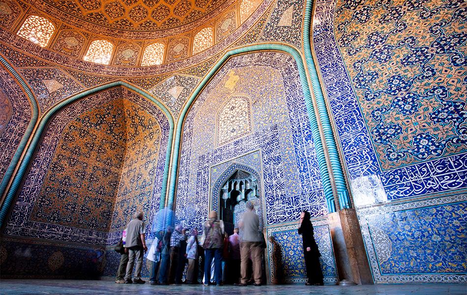 Iran Isfahan Lotfollah moskee