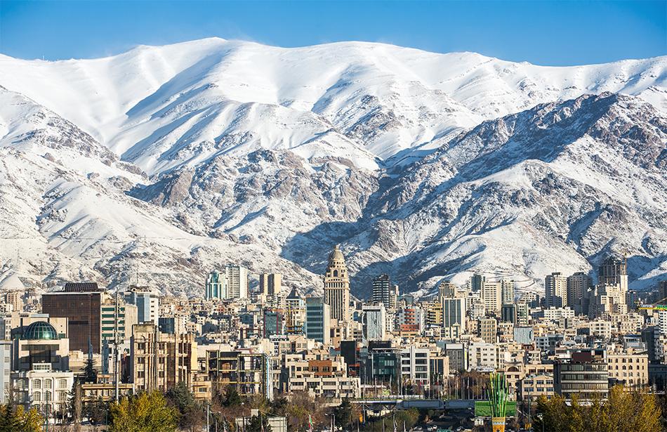 Teheran Alborz bergen